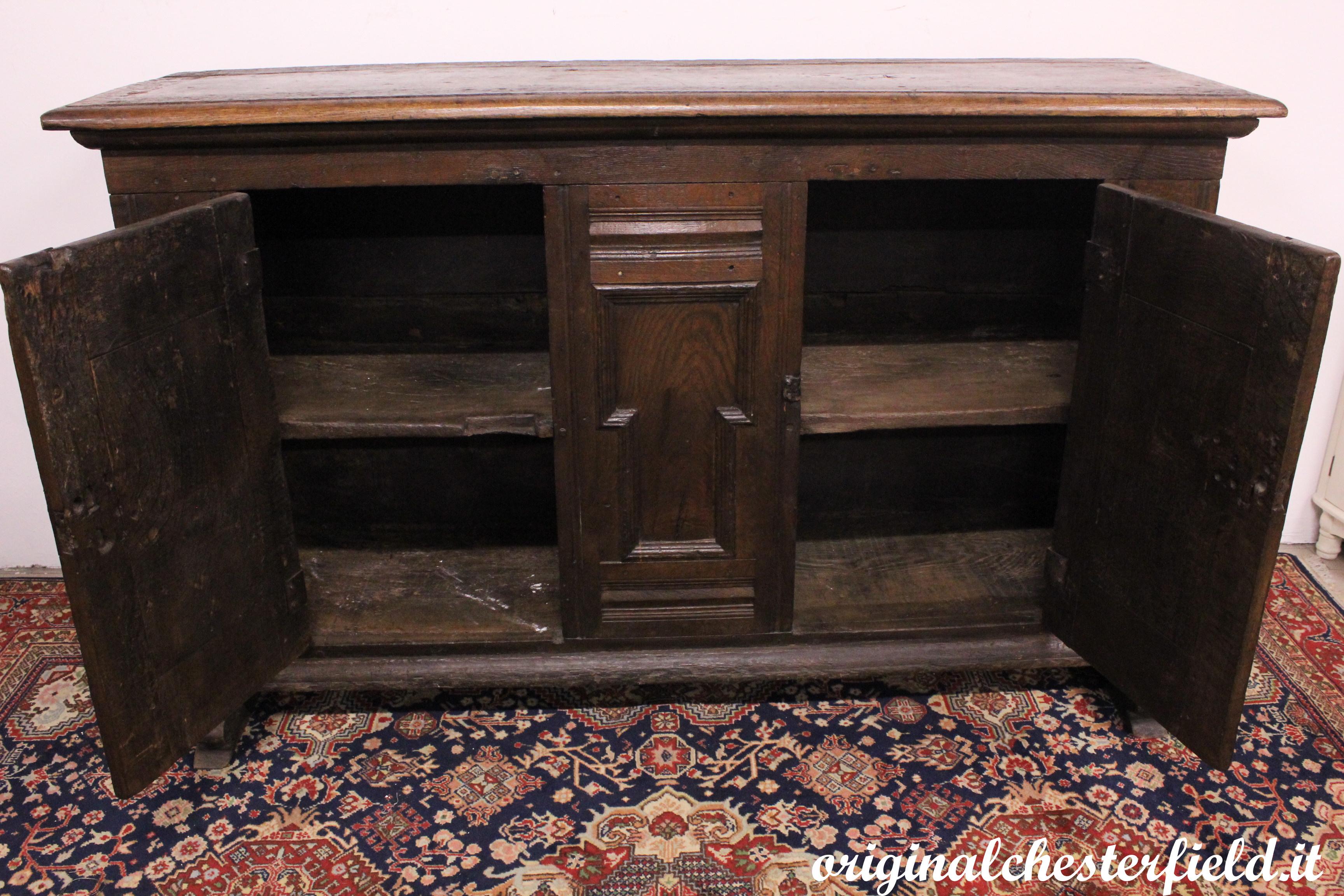 Madia antica del XVII sec. circa in legno di rovere (004) – Divani ...