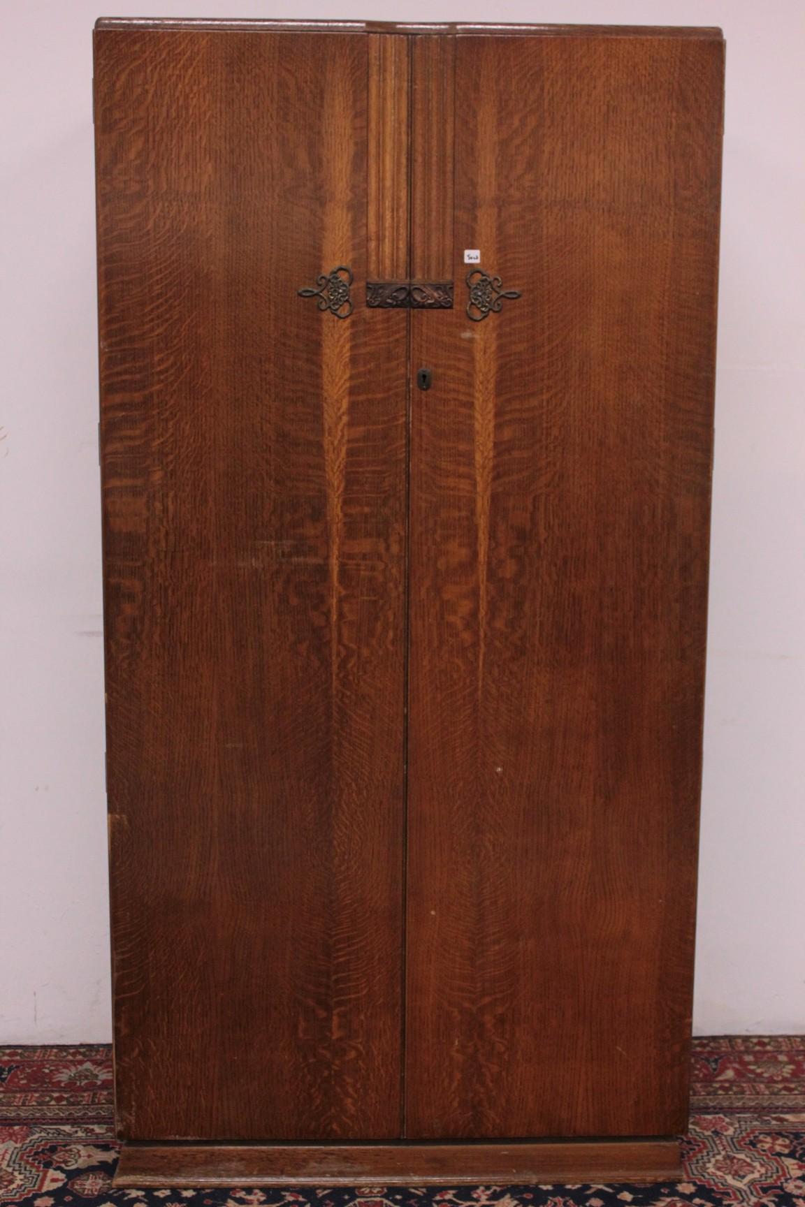 Armadio college inglese in legno di rovere (103) – Divani originali ...