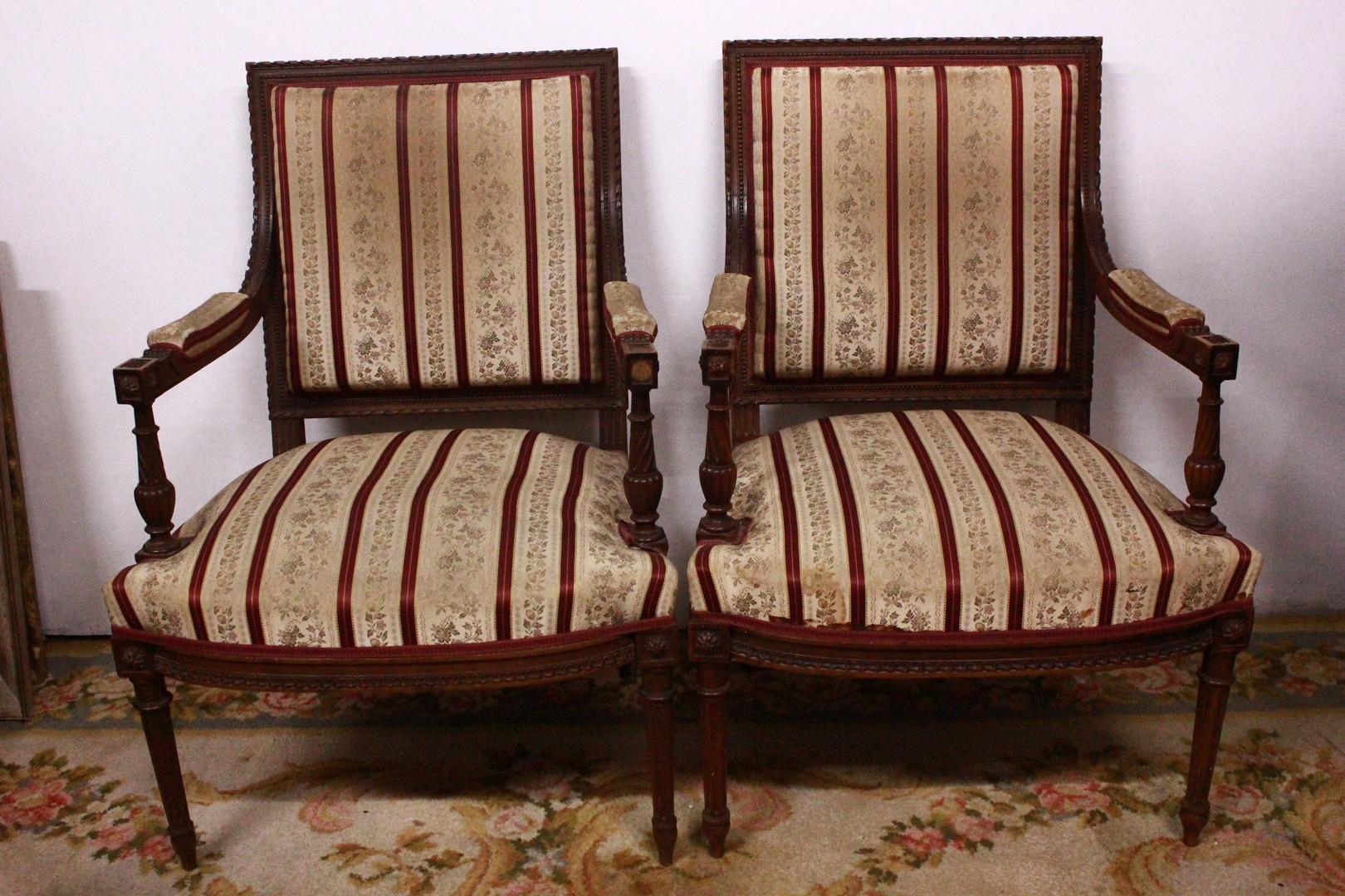 Sedie 800 Francese : Coppia di sedie francesi del xix secolo u divani originali