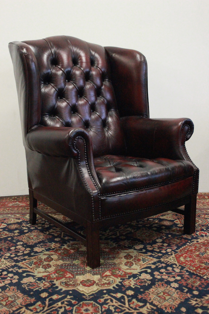Poltrone Bergere In Pelle.Poltrona Chesterfield Bergere In Pelle Bordeaux 386 Divani